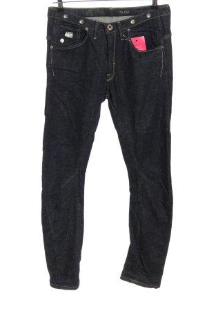 G-Star Jeansy rurki czarny W stylu casual