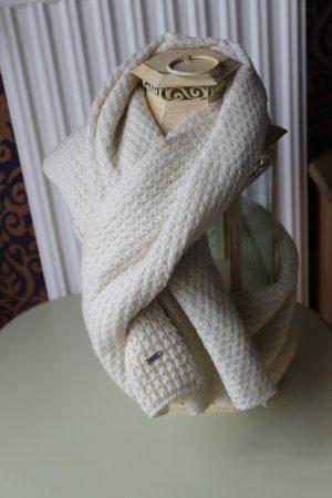 G-Star Gebreide sjaal licht beige Acryl