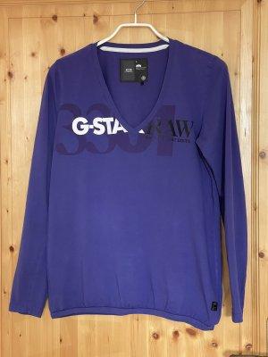 G-Star Longsleeve dark violet