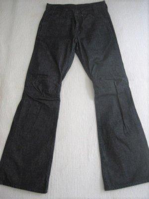 G-Star Workowate jeansy ciemnoniebieski