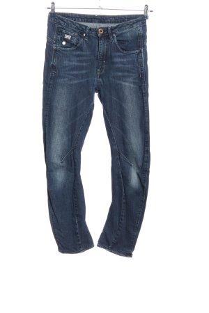 G-Star Jeansy o obcisłym kroju niebieski W stylu casual