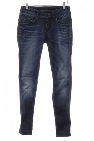 G-Star Skinny Jeans blau Casual-Look