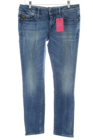 G-Star Skinny Jeans blau-stahlblau Casual-Look