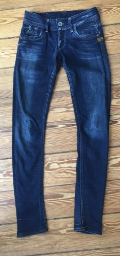 G Star Skinny Jeans dunkle Waschung