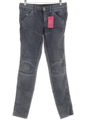 G-Star Skinny Jeans grau Casual-Look