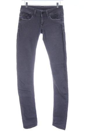 G-Star Skinny Jeans grau-hellgrau Casual-Look