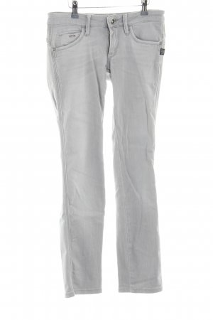 G-Star Skinny Jeans light grey casual look
