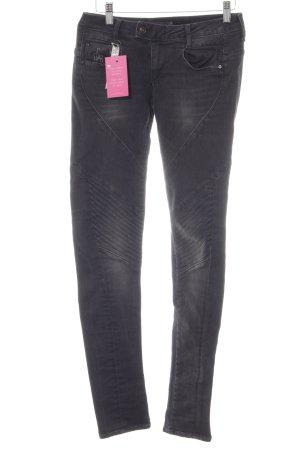 G-Star Skinny Jeans schwarz Biker-Look