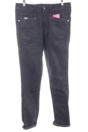 G-Star Skinny Jeans schwarz Casual-Look