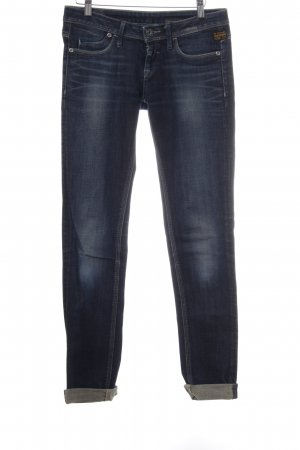 G-Star Dopasowane jeansy ciemnoniebieski W stylu casual