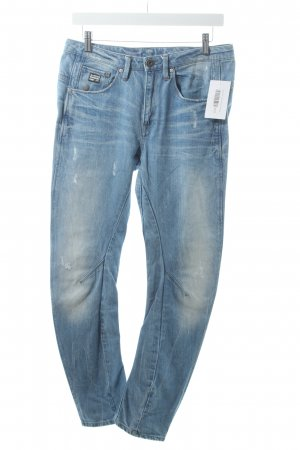 G-Star Slim Jeans graublau Used-Optik
