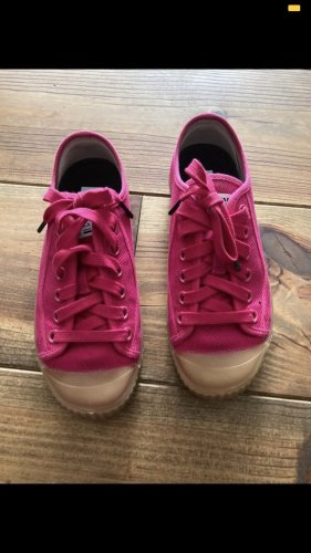 G-Star Lace-Up Sneaker magenta-raspberry-red