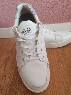 Gstar Sneaker con tacco bianco