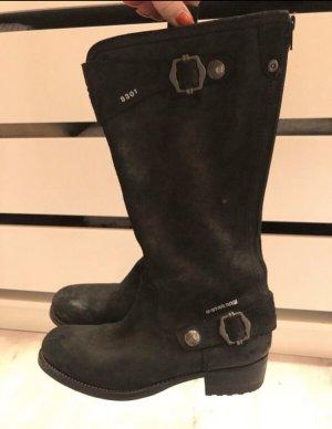 G-Star Stiefel in schwarz