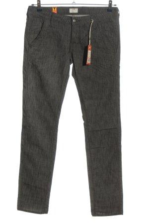 G-Star Pantalon en jersey gris clair moucheté style décontracté
