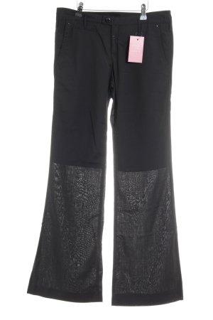 G-Star Jersey Pants black weave pattern casual look