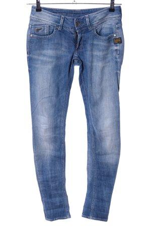 G-Star Jeans a gamba dritta blu stile casual