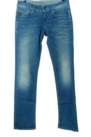 G-Star Straight-Leg Jeans blau Casual-Look