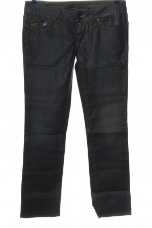 G-Star Straight-Leg Jeans schwarz Casual-Look