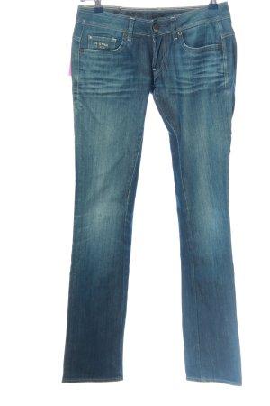 G-Star Jeans coupe-droite bleu style décontracté