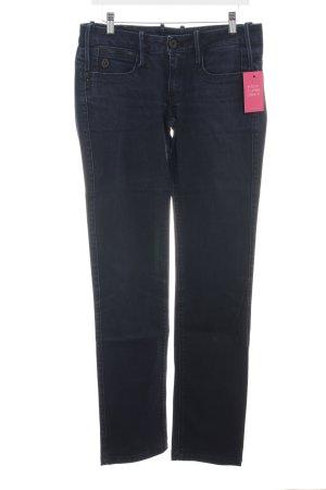 G-Star Jeansy z prostymi nogawkami niebieski W stylu casual