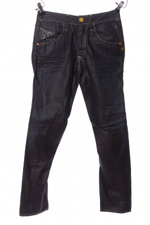 G-Star Jeans coupe-droite noir style décontracté