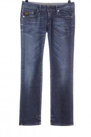 G-Star Straight Leg Jeans blue casual look