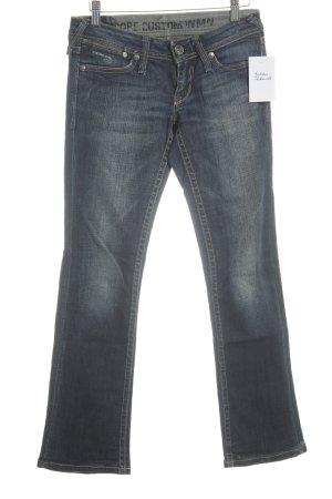 G-Star Jeansy z prostymi nogawkami ciemnoniebieski Wygląd w stylu miejskim