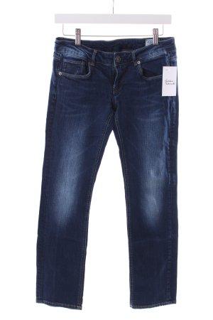 G-Star Jeans coupe-droite bleu foncé style délavé