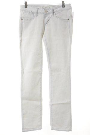 G-Star Jeansy z prostymi nogawkami w kolorze białej wełny W stylu casual