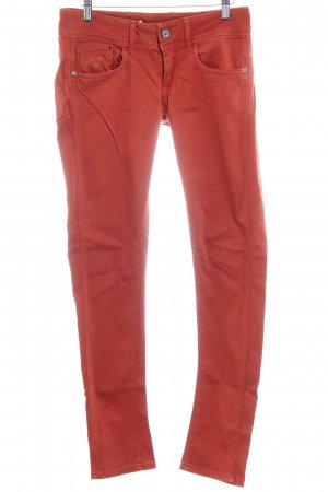 G-Star Stretchhose dunkelorange Casual-Look