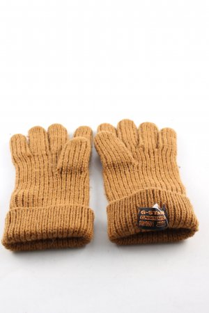 G-Star Knitted Gloves brown casual look