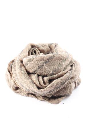 G-Star Sciarpa lavorata a maglia crema-grigio chiaro stile casual