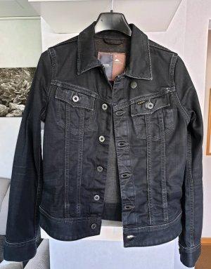 G-Star Veste en jean noir coton