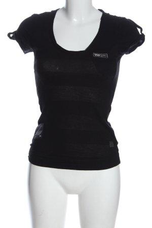 G-Star T-shirt noir style décontracté
