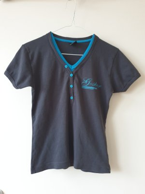 G-Star V-Neck Shirt steel blue