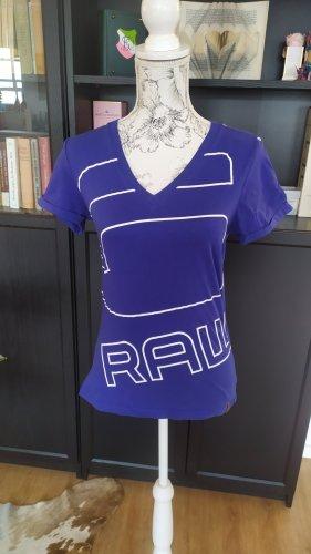 G-Star T-Shirt blau-lila Gr. M