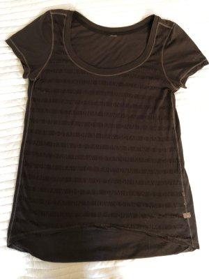 G-Star t-Shirt S M 36 38 Grau Braun