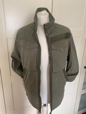 G-Star Kurtka wojskowa ciemnozielony-khaki