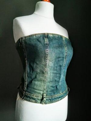 G-Star Vintage Jeans Bustier Top Corsage Boho Ibiza Rockstar Top