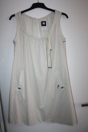G-Star Women Damen Sommer Kleid Beige Größe S