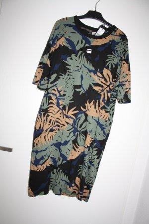 G-Star YIVA AOP R DRESS 1/2 Kleid/ Oversized T-Shirt Größe S