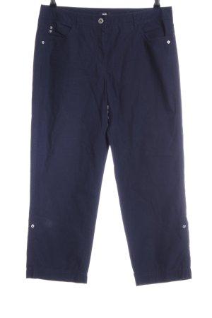G.W. 7/8-Hose blau Casual-Look