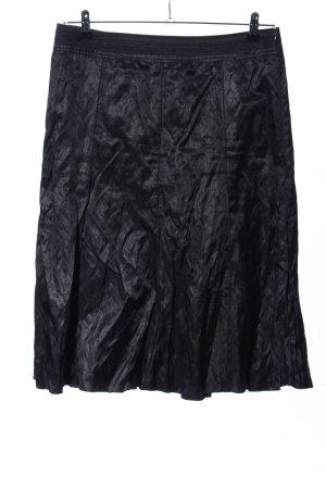 G.W. Plaid Skirt black business style
