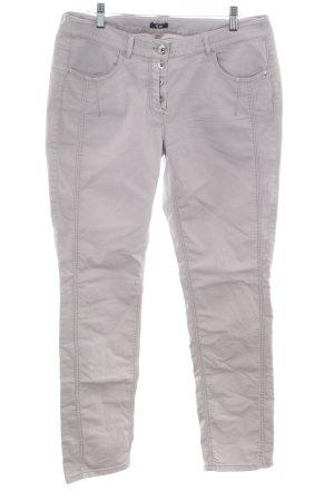 G.W. High Waist Jeans hellgrau Casual-Look