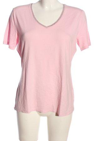 G.W. V-Ausschnitt-Shirt pink Casual-Look