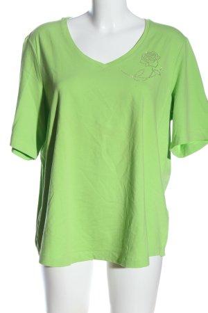 G.W. Kurzarm-Bluse grün Casual-Look