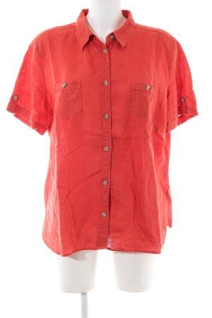 G.W. Shirt met korte mouwen rood casual uitstraling