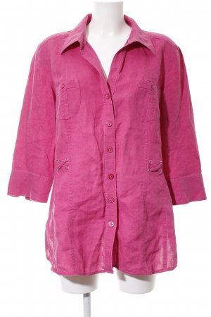 G.W. Kurzarmhemd pink Casual-Look