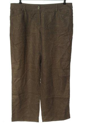 G.W. Pantalon en lin brun style décontracté
